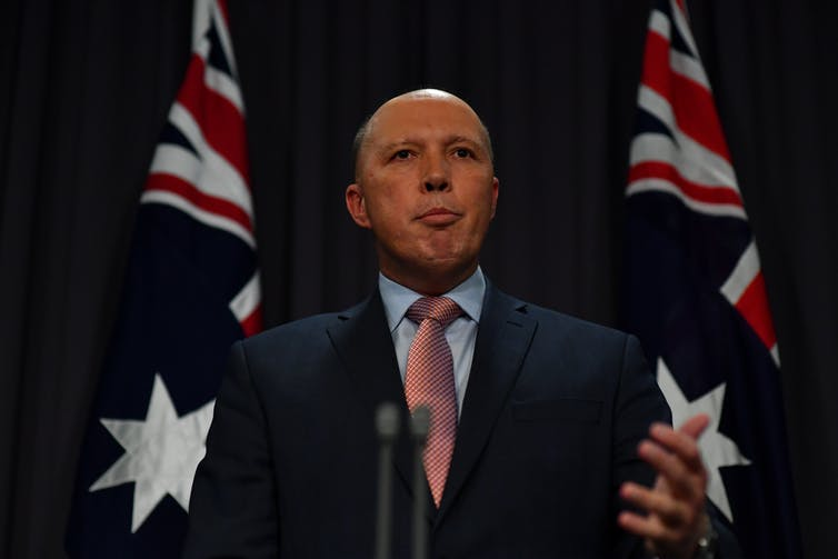 Dutton changes his mind over journalists, but not whistleblowers