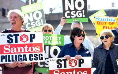 98% oppose the Narrabri coal seam gas project, but it is weeks away from approval