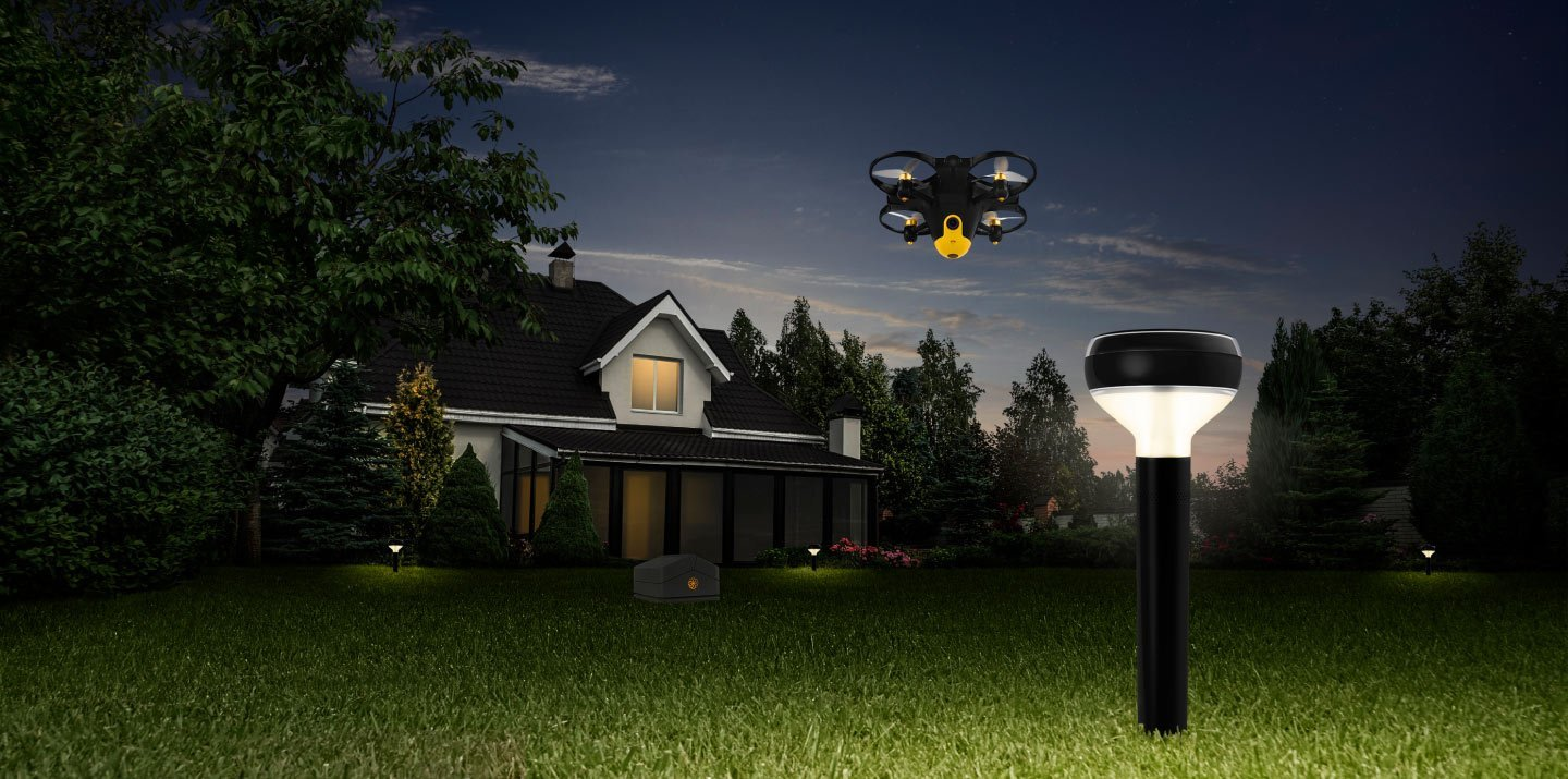 Security bees and sunflower sensors: The drones guarding the gardens of the rich