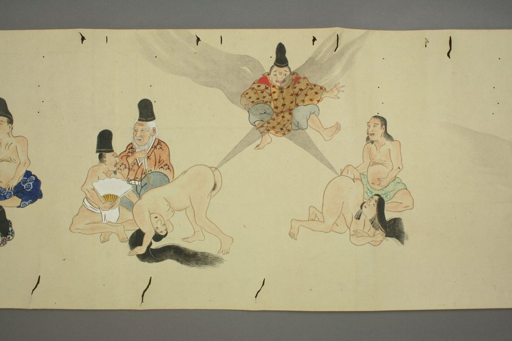 "150 years ago, Japan dropped the ""Fart Battle"" scrolls"