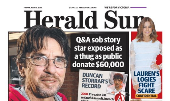 The Court of Public Opinion: The Herald Sun