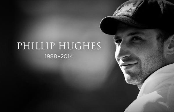 """Phillip Hughes – sadly taken from us but in many Aussie hearts """"Together Forever""""…"""