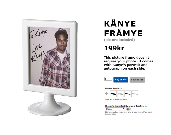 Internet responds to Kanye/IKEA collab, creates products