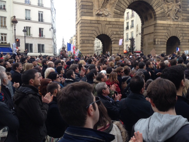 Charlie Hebdo march in Paris: Through the eyes of the photographer