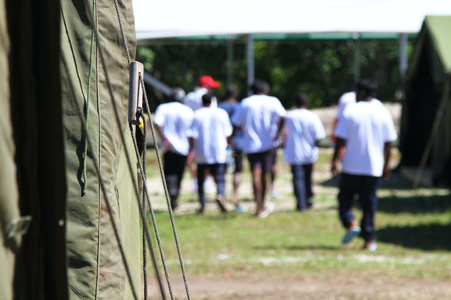 We're not going back to Nauru, we never left