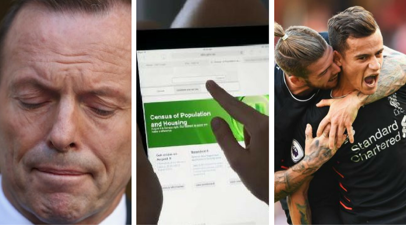 While you were asleep: Abbott's regret, Census nag and the EPL launches