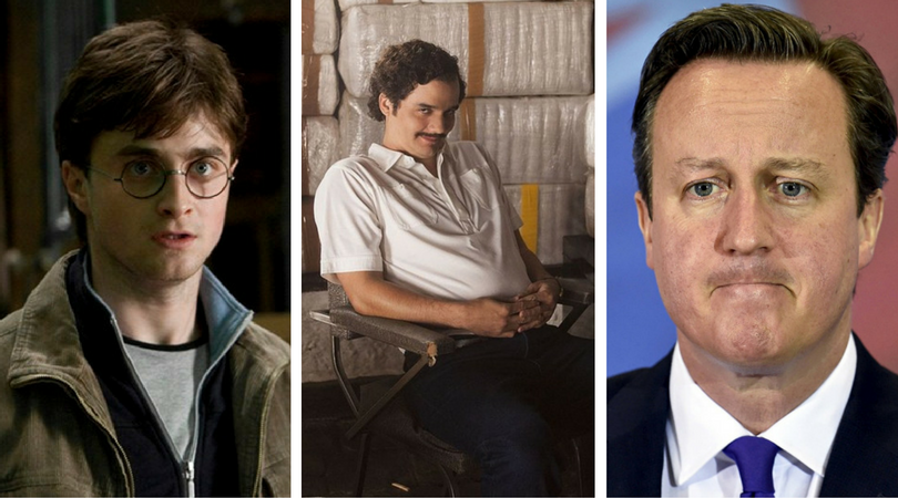 While you were asleep: David Cameron quits, Daniel Radcliffe's return, Escobar ripped off