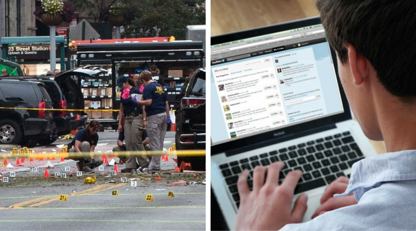 "No news is terrible news: Twitter's insane reaction to New York ""attack"""