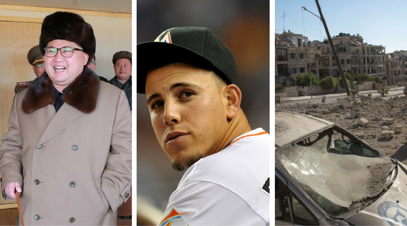 While you were asleep: Syrian peace unlikely, SK assassination plot, baseball star killed