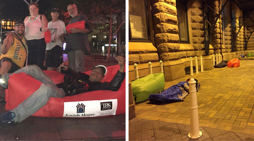 Jewish House and The Big Smoke help Sydney's homeless and rough sleepers