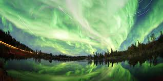 northern lights arctic circle