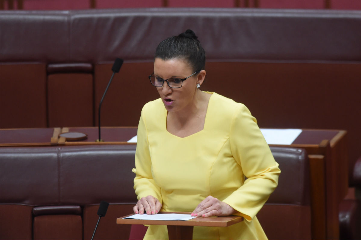 Lessons from Jacqui Lambie: Google Sharia Law before a telly appearance….