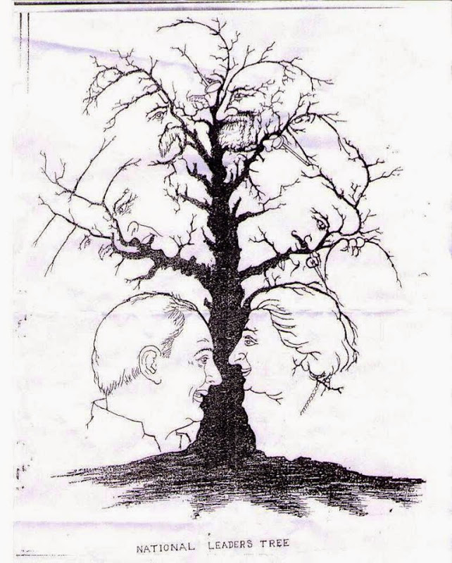 Internet illusion: How many faces can you spot?