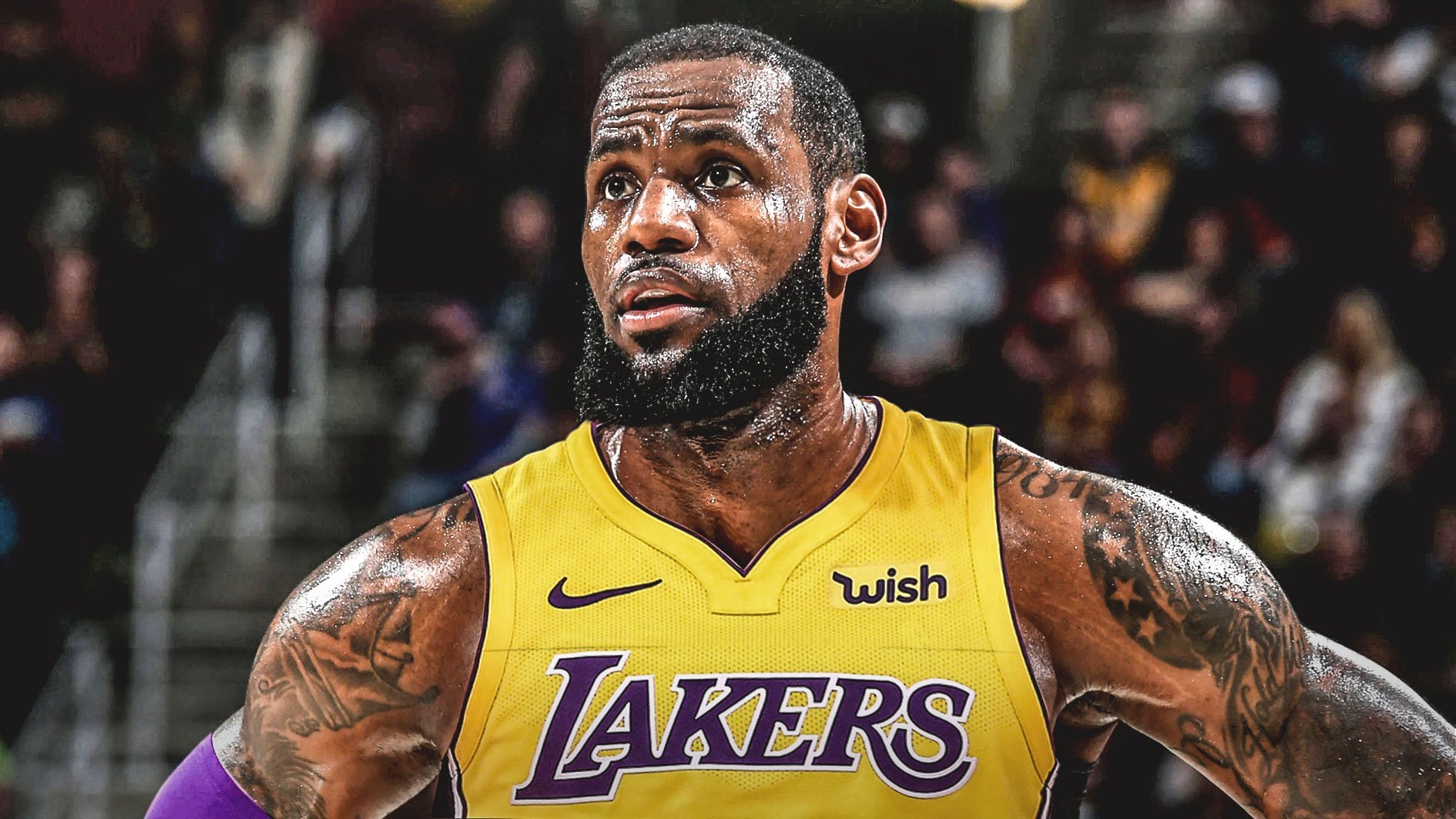 LeBron signs with the LA Lakers for four years, $154 million