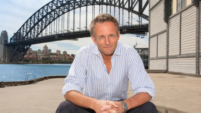 A supplied image obtained Wednesday, Sep. 18, 2013 of Dr Michael Mosley, the BBC self-experimenter doctor who has written a book on his 5:2 fasting diet. Mr Mosley is in Australia to launch BBC Knowledge series, What's Your Body Hiding.