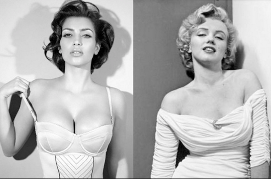 Popped Culture: Kim Kardashian – Our modern-day Monroe