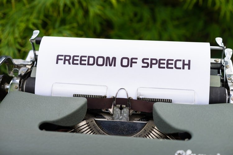 We have a problem with freedom of speech