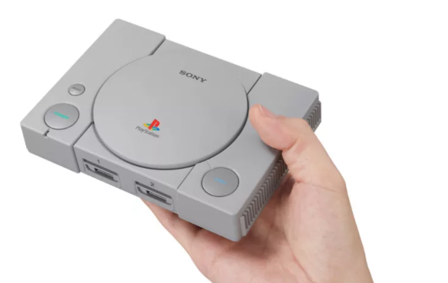 Sony announces mini PS1, release in time for Christmas