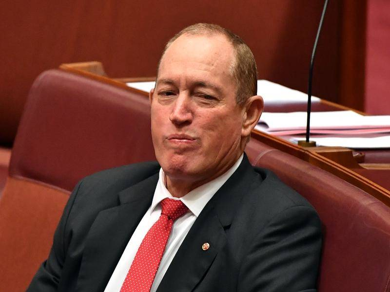 Fraser Anning facing bankruptcy, also irony
