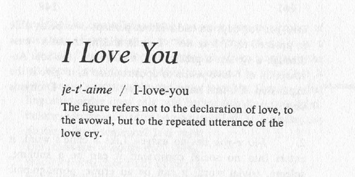 Book Review: Roland Barthes' A Lover's Discourse: Fragments