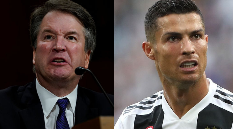 Reserving judgment: Let's not make Ronaldo another Kavanaugh