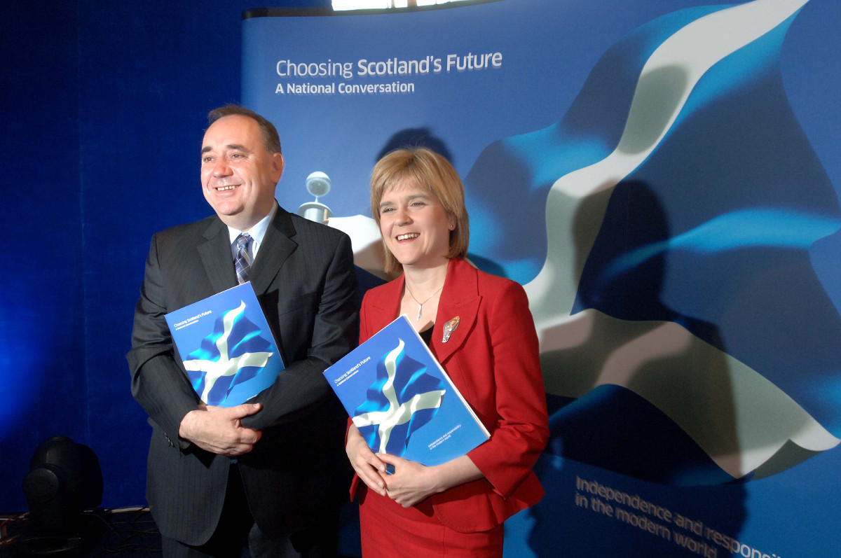 S&M: Honest Abbott should leave Scottish independence to the Scots