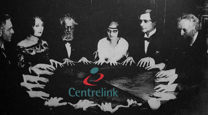 Centrelink employs psychic mediums to chase debts beyond the grave