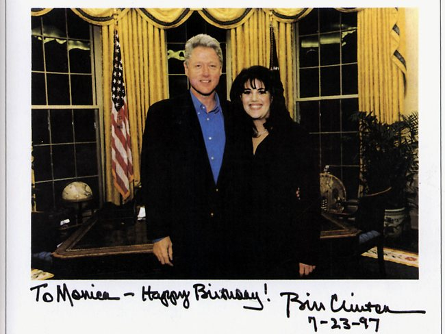 """What If"" Fridays: What if Clinton chose Lewinsky?"