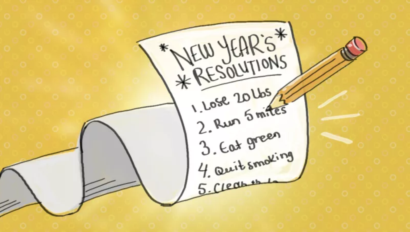 Ten tips to making resolutions that will actually stick