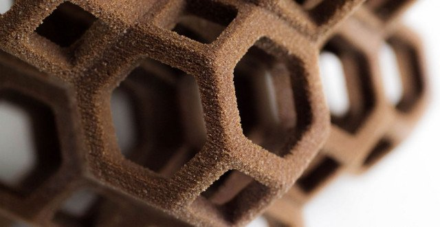 Sugar the solution for more complex 3D printing