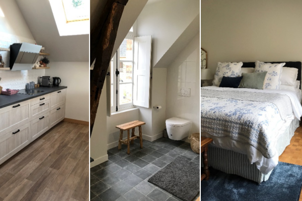 From Barn to Luxury Guesthouse…