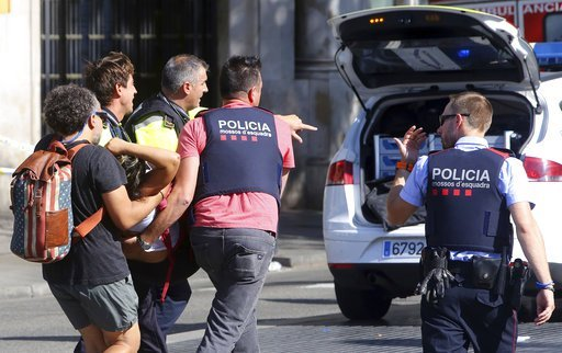Islamic State claim responsibility for Barcelona terror attack